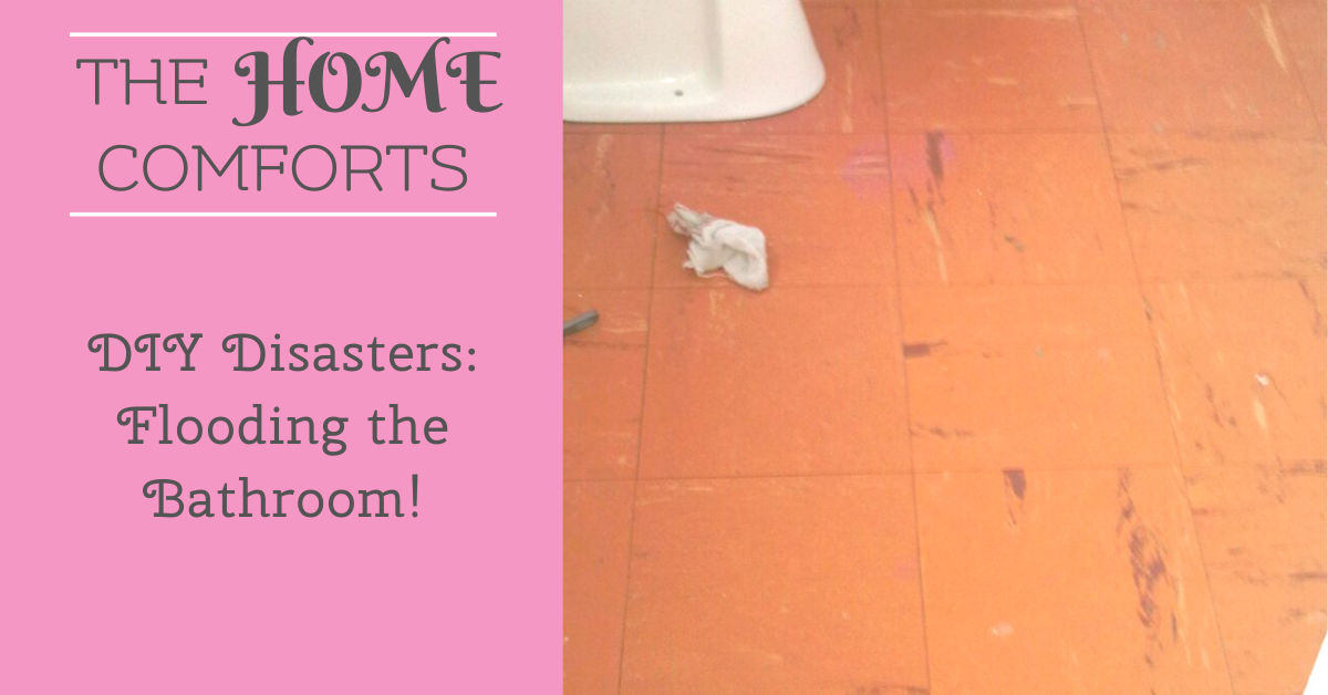 DIY Disasters: Flooding the Bathroom